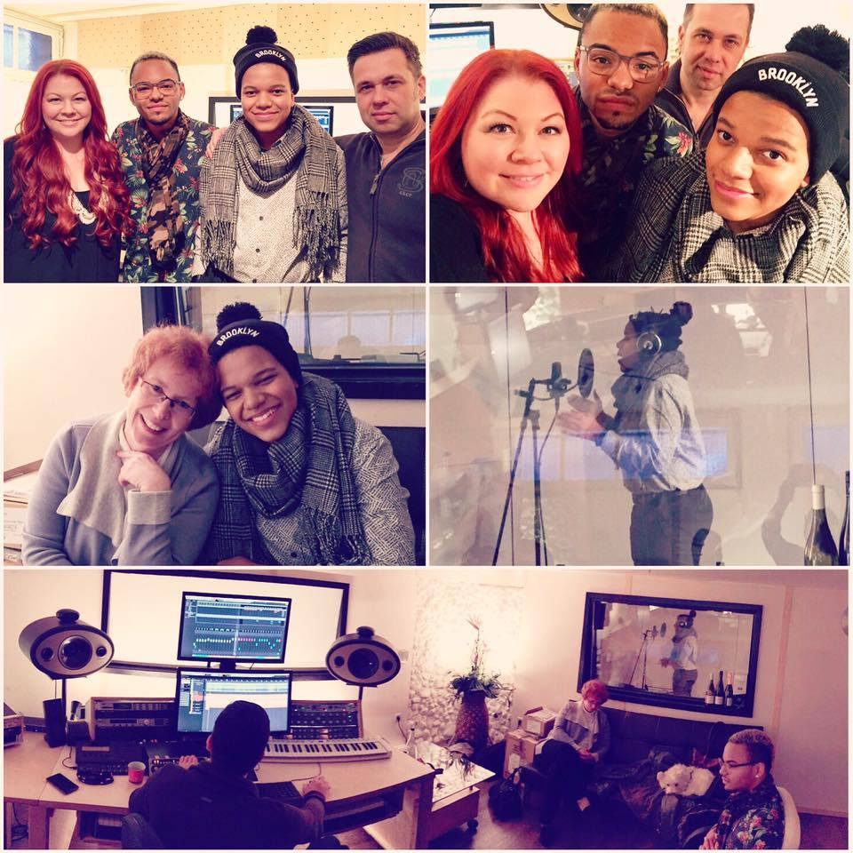 Songwriting, Vocalcoaching und Recordings mit Noël in Köln im Tonstudio