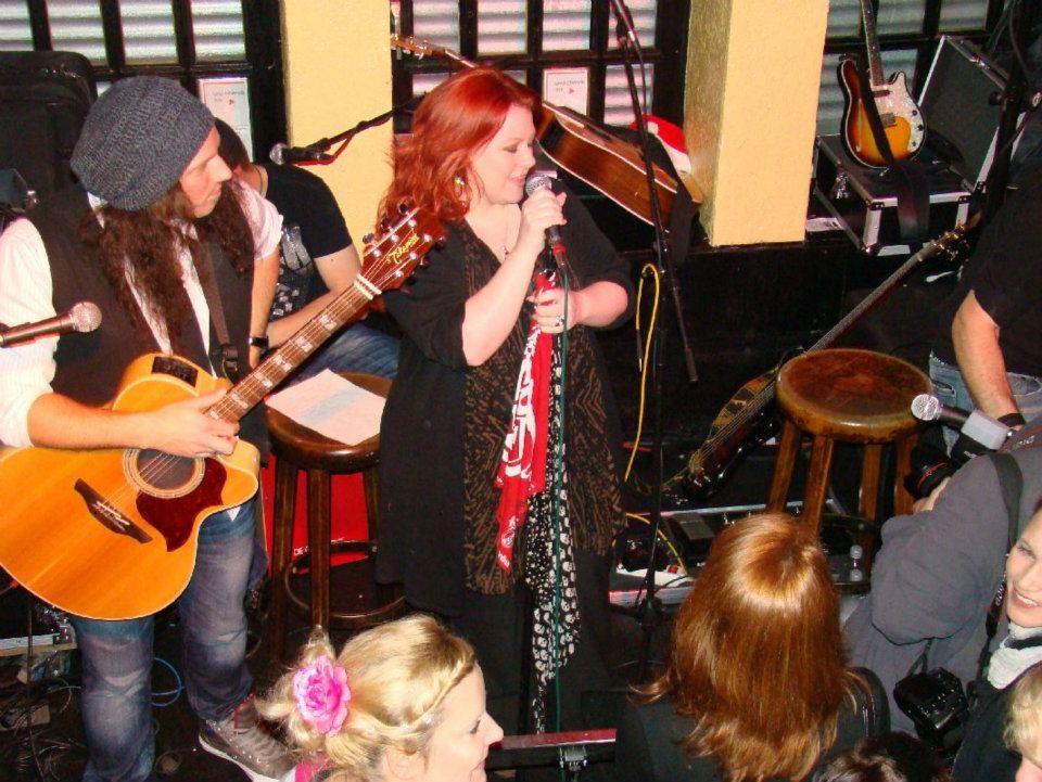 """Gig mit der Band """"Hanak"""" in Köln Dez. 2011"""