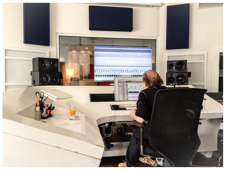 Studio recordings im Tonstudio
