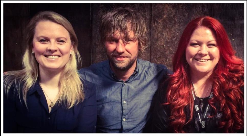 """mit meinen Jurykollegen Patricia Kelly & Johannes Falk beim Dreh für die ERF Fernsehshow """"Songtalent"""""""