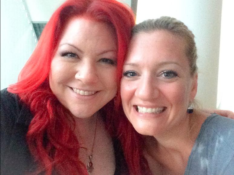 mit meiner Kollegin Juliette Schoppmann