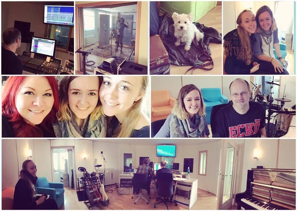 Recordings mit meiner Schülerin Sarah Dorner