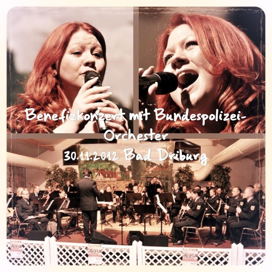 Benefiz Konzert Bad Driburg mit Bundes-Polizei-Orchester 30.11.2012