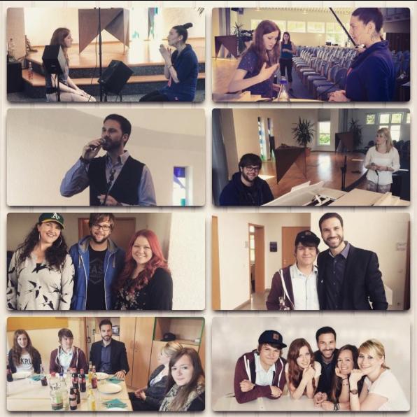 """Vocalcoaching für die ERF Fernsehshow """"Songtalent"""", bei welcher ich Vocalcoach war und auch in der Jury saß"""