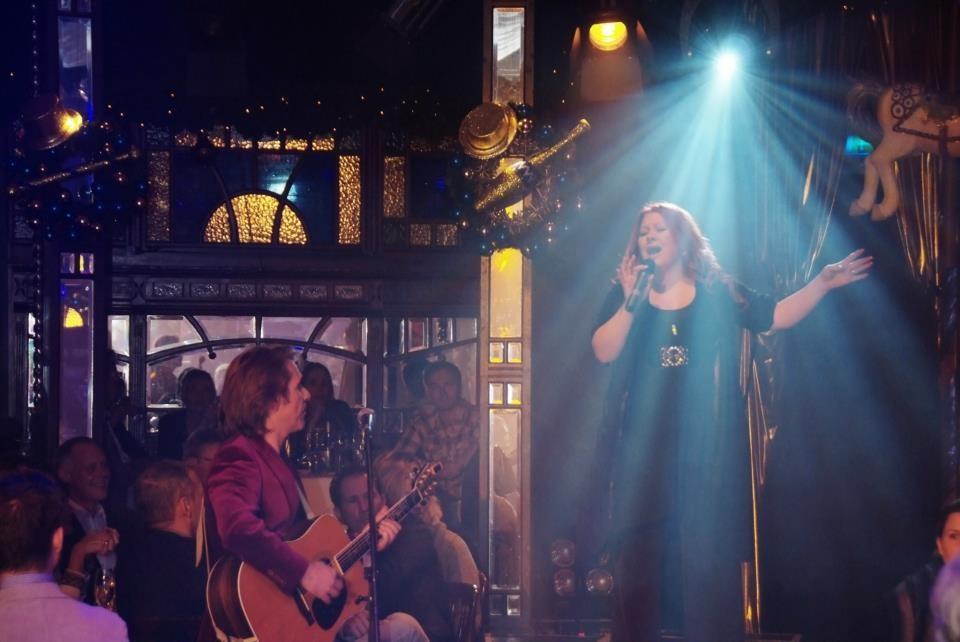 Night of Soul mit Riccardo Doppio und Band, im Roncalli Spiegelzelt in Essen / November 2012