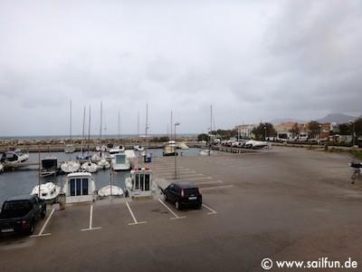 Hafenzufahrt Sant Pere