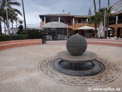 Sterne-Restaurant Tristan an der Hafenpromenade