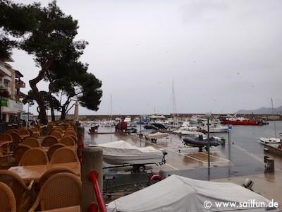 Blick in die Marina von Cala Ratjada