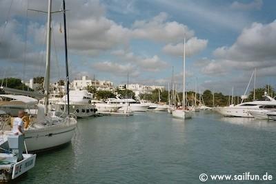 Im Hafen von Cala D'Or