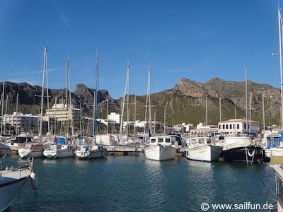 Yachthafen von Port de Pollenca