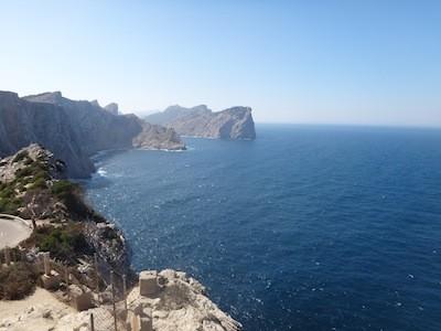 Ankerbucht Cala Figuera nähe Cap Formentor