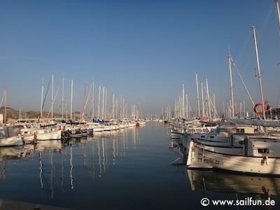 Port de Pollenca - Unzählig viele LLauts im Hafen