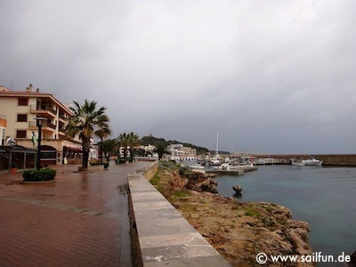 An der Promenade von Cala Ratjada
