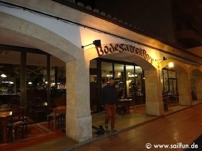 Unser Restaurant Tipp in Alcudia - Bodega d'es Port