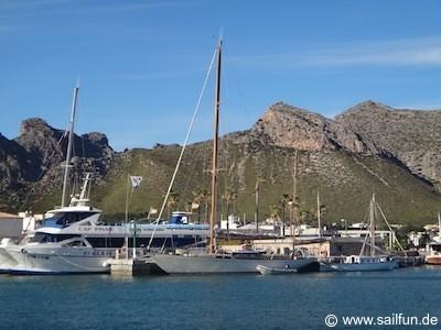 Hafenbild Port de Pollenca