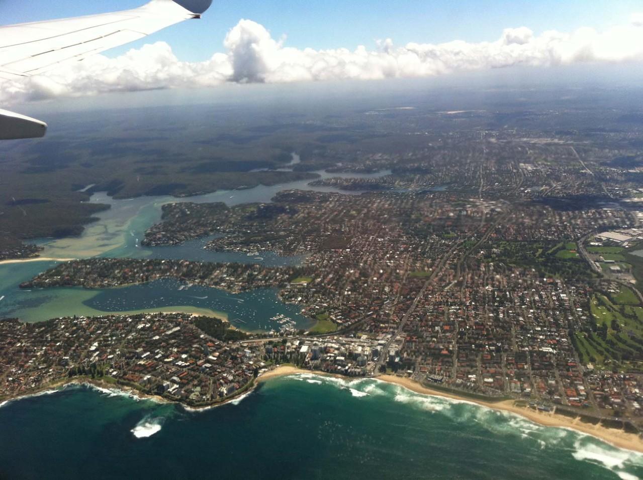 5. Etappe - Flug von Sydney nach Hobart (Tasmanien)