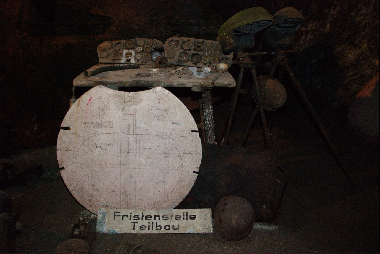 Das stillgelegte Bergwerk wurde während des 2. Weltkrieges...