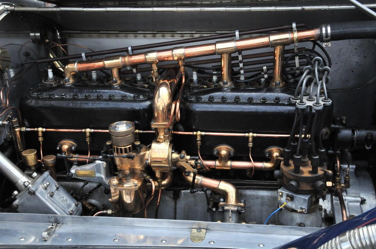 ...und massiver Mechanik