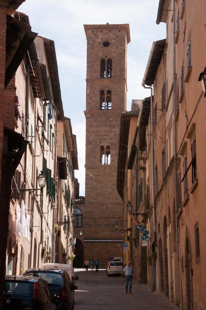 Blick auf den Glockenturm des Dom's