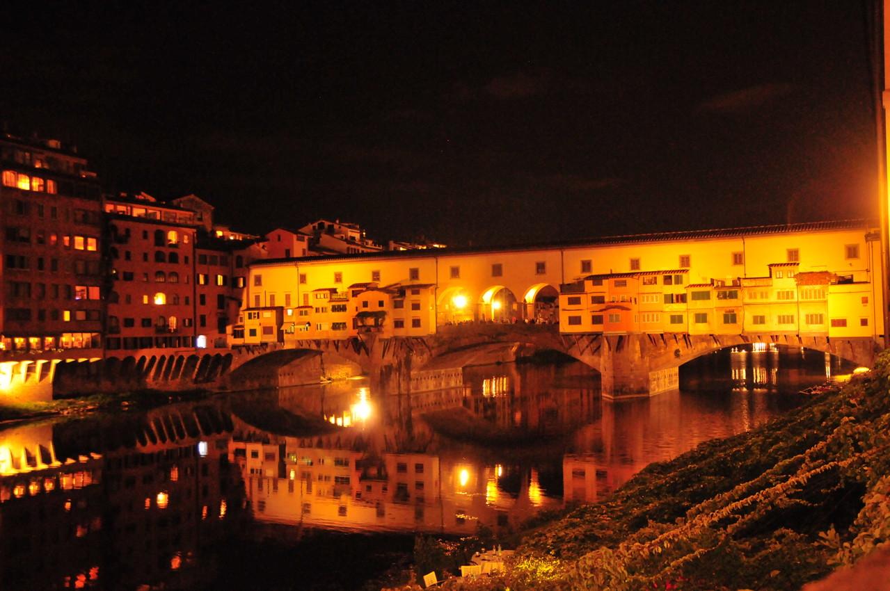"""Ponte Vecchio"" bei Nacht"