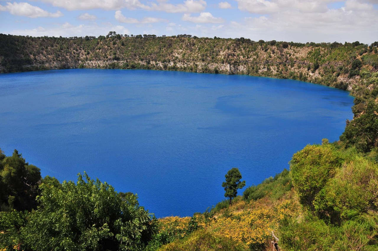 """Blue Lake"" am ""Mount Gambier"""