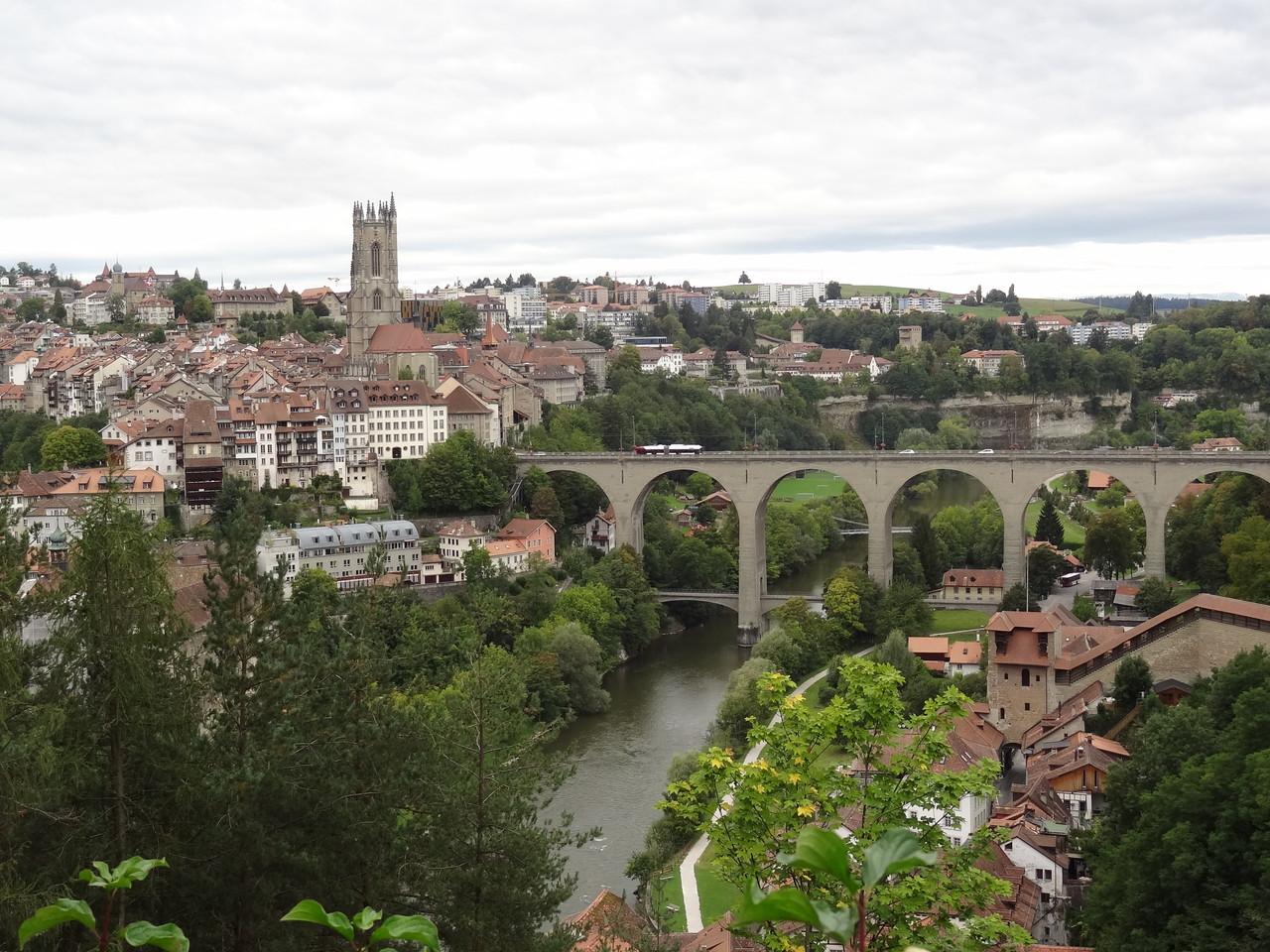 1. Halt in Fribourg