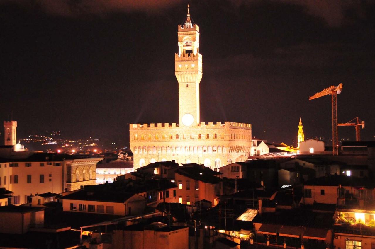 """Palazzo Vecchio"" bei Nacht"