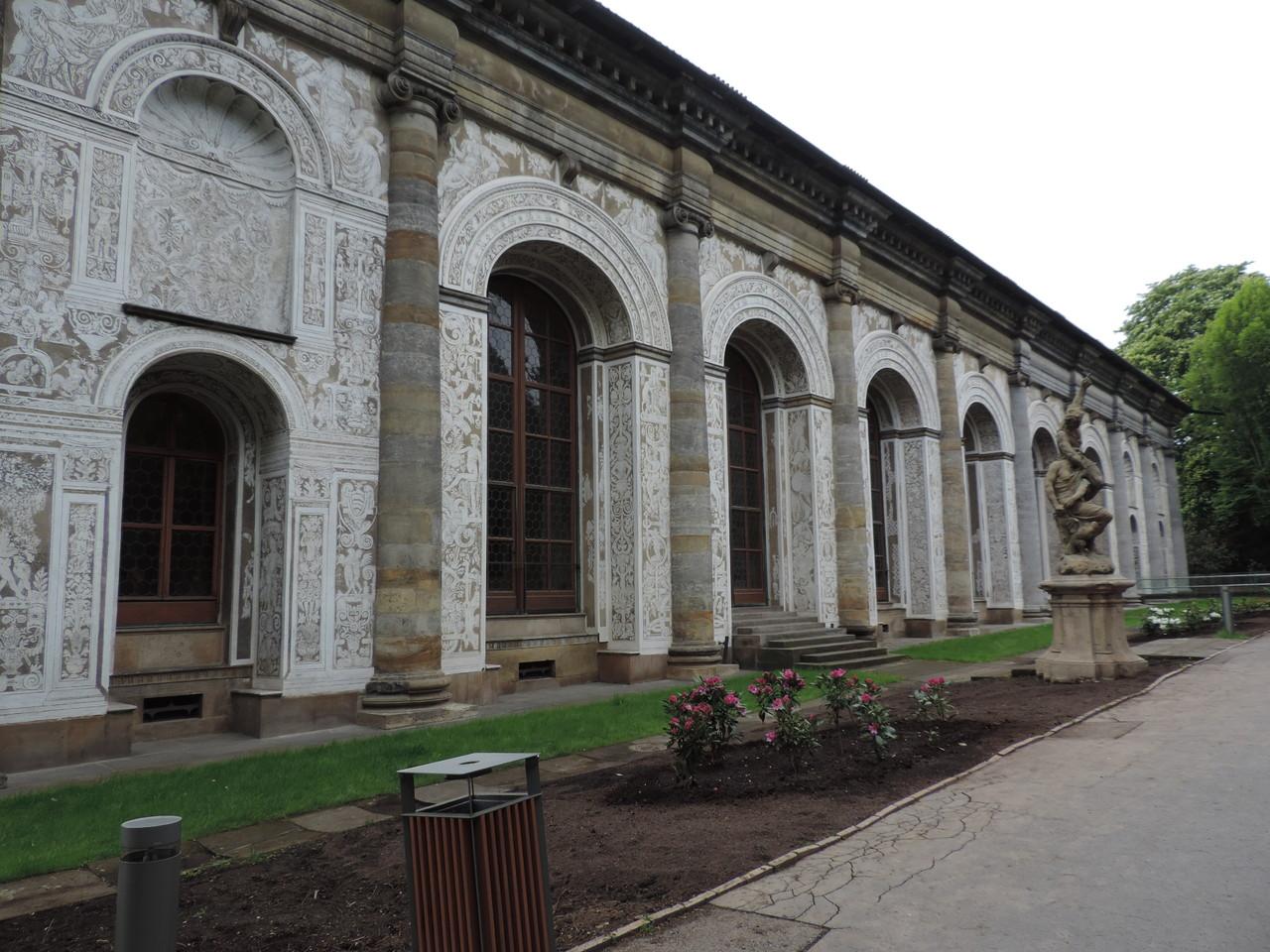 Organgerie im königlichem Garten
