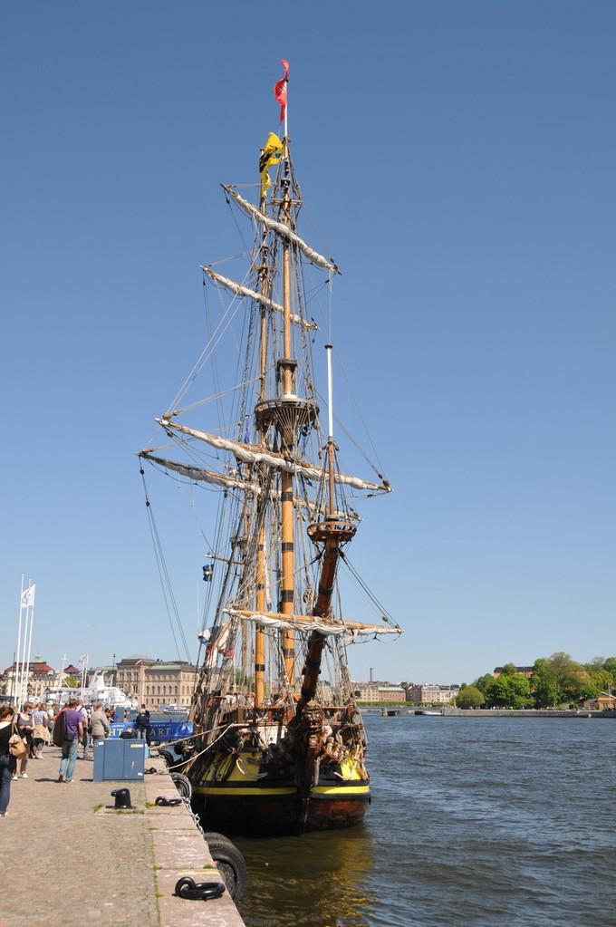 Der Pier wo das Insel Hopping mit Schiff startet