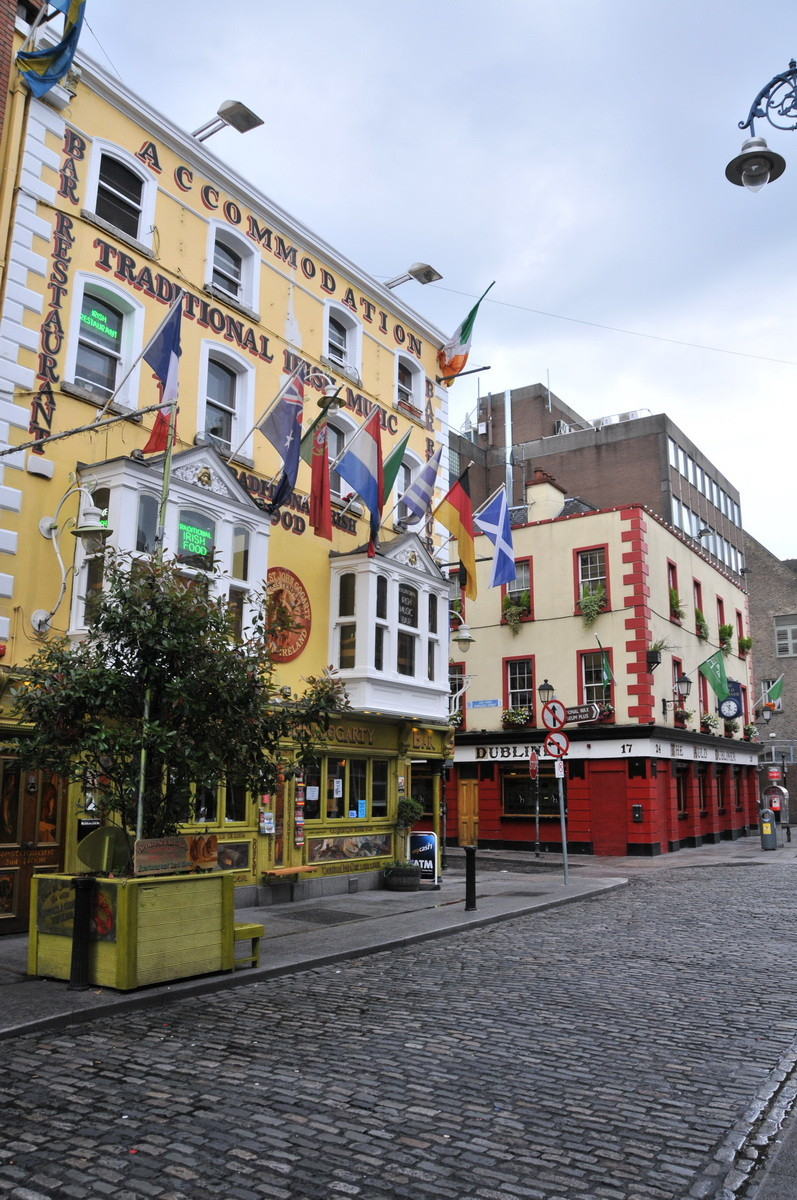 Ankunft in Dublin