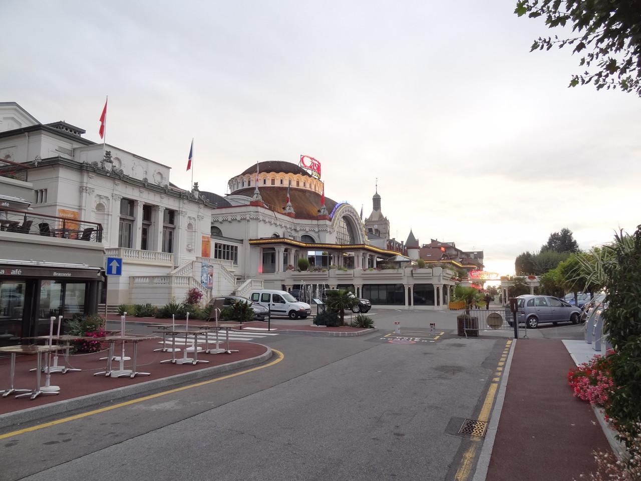 4. Halt für Übernachtung in Evian-les-Bains