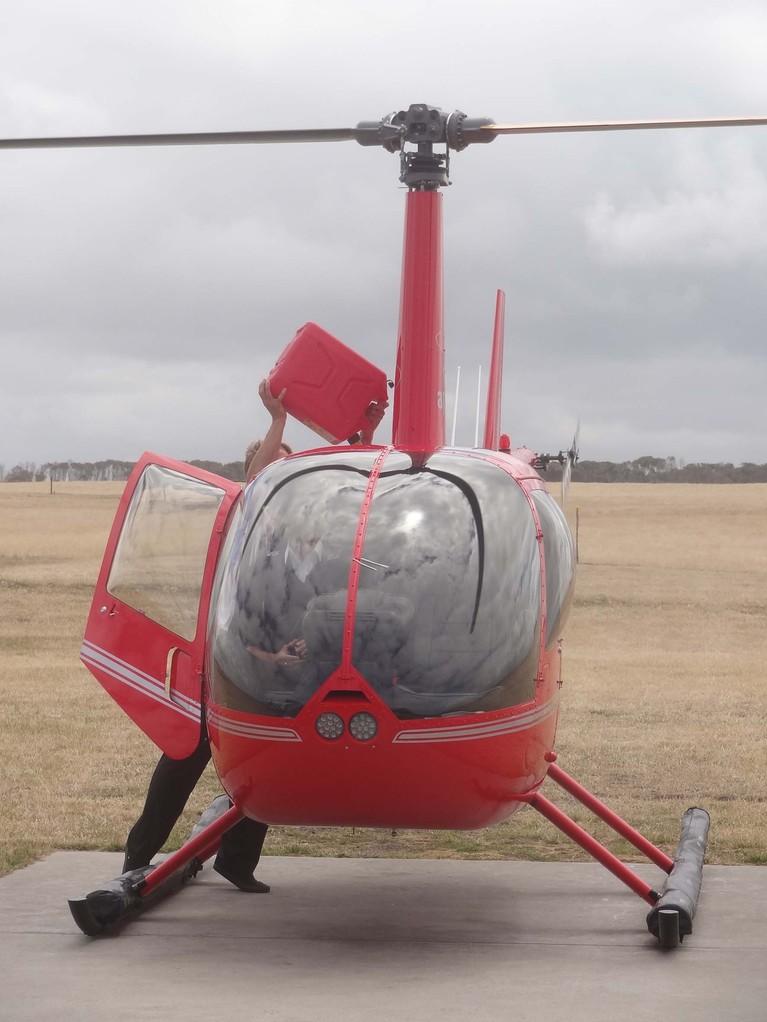 Mein Geburtstagsgeschenk - der Helikopter Flug