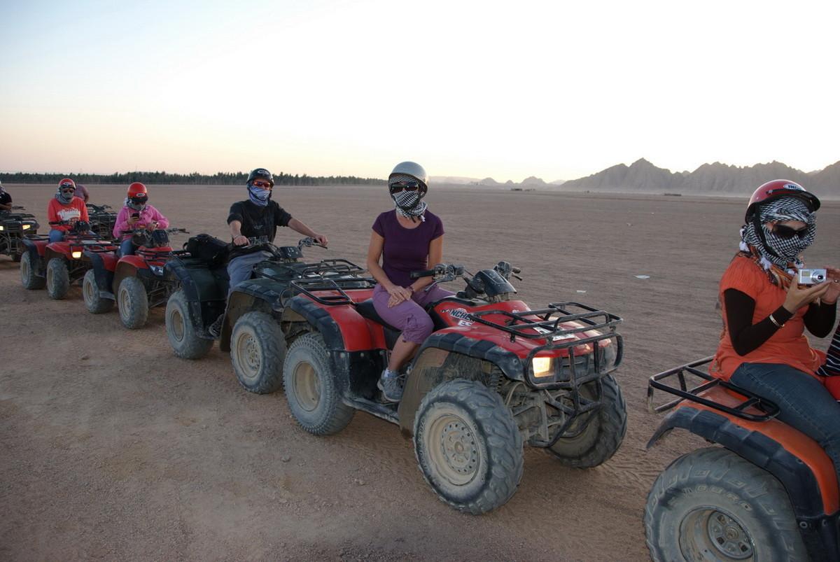 Zweiter Ausflug mit den Quads