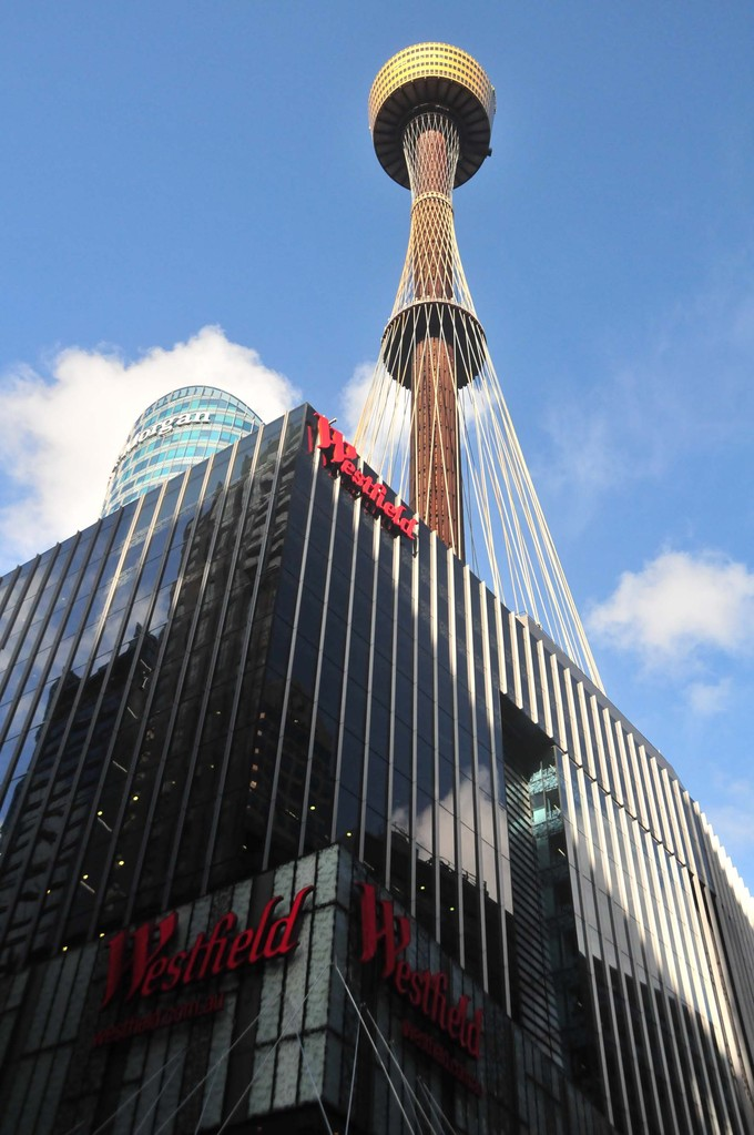 4. Etappe in Sydney - Sydney Tower