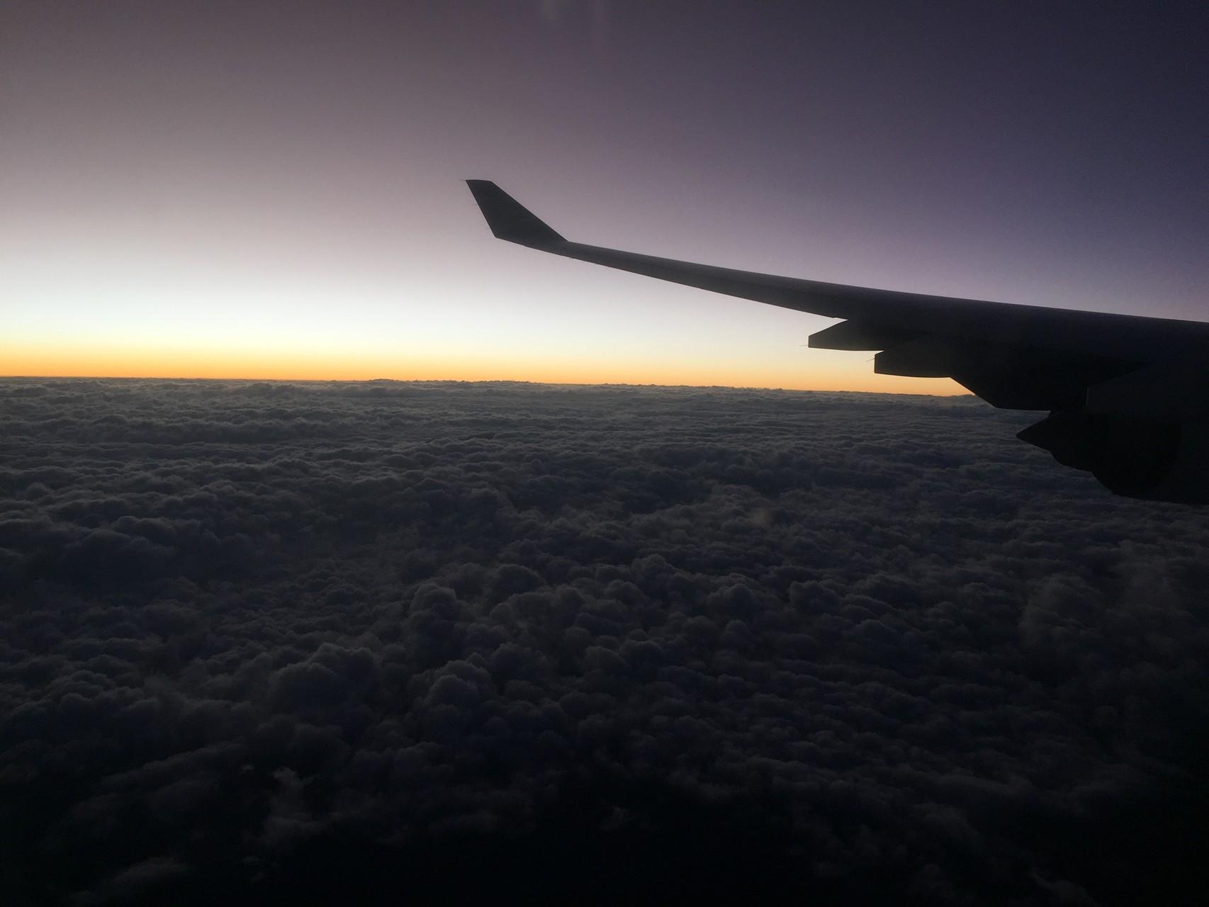 2. Tag - Nach einem schönen Flug ab Frankfurt und einer guten Landung in Johannesburg...