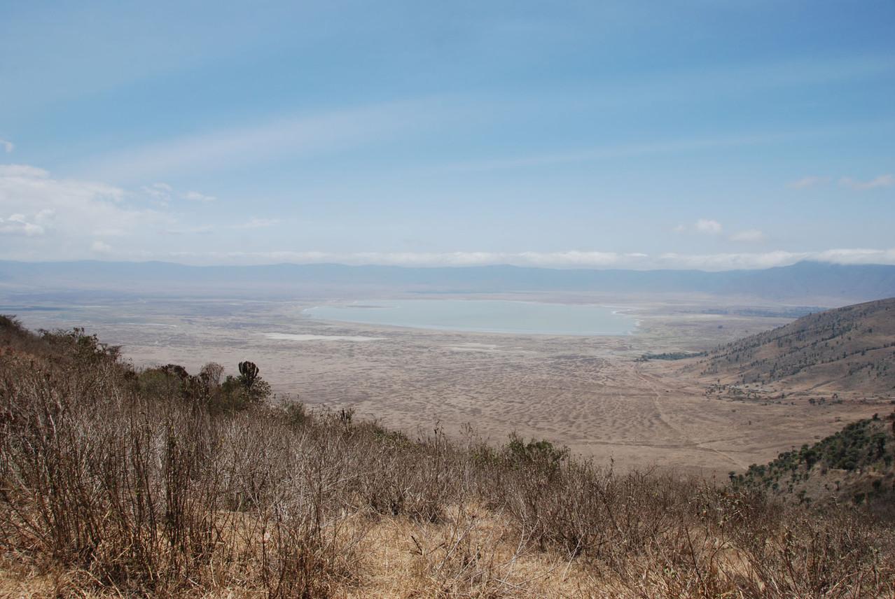 """Ngorongoro Krater mit See """"Lake Magadi"""" (1722müM)"""