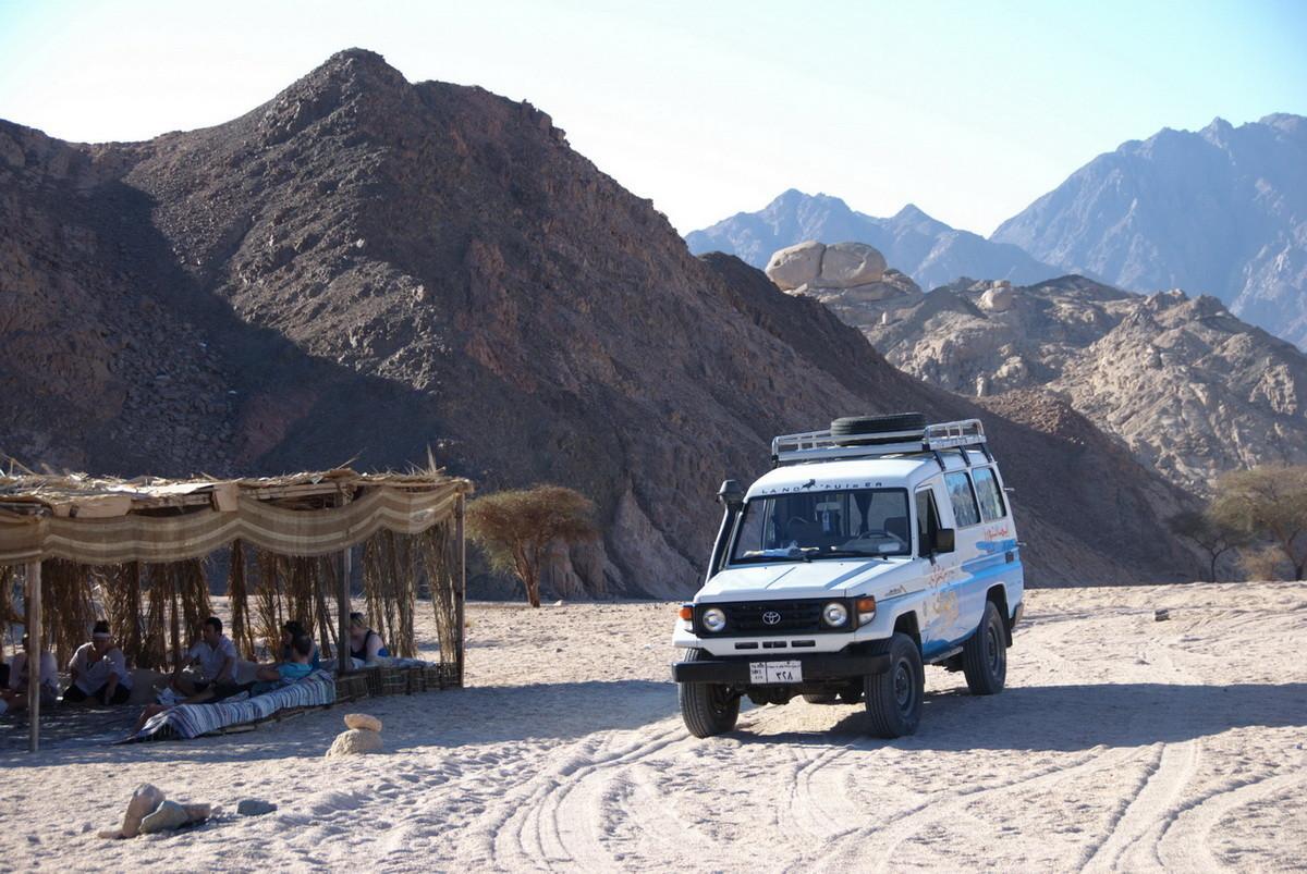 Vierter Ausflug, beginnend mit Jeep Safari