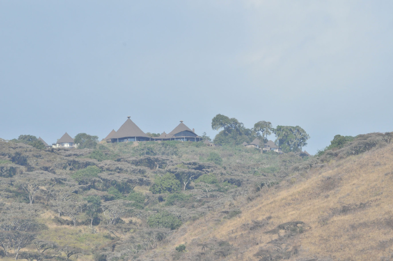 """Die nächste Unterkunft """"Nogorongoro Sopa Lodge"""""""