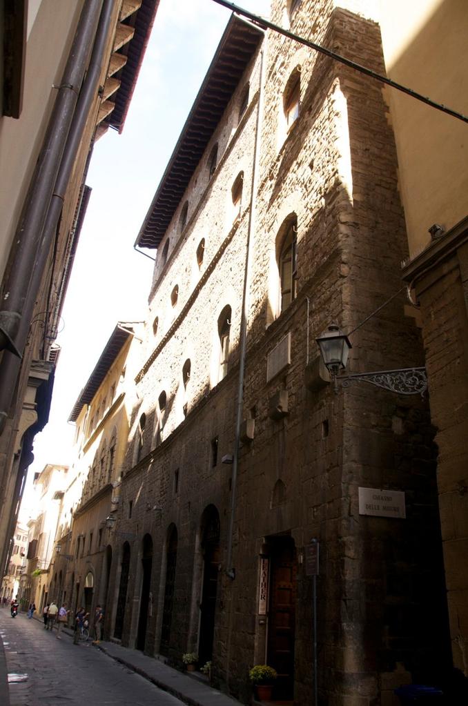 """Unser Hotel """"Torre Guelfa"""" mitten im Stadtkern"""