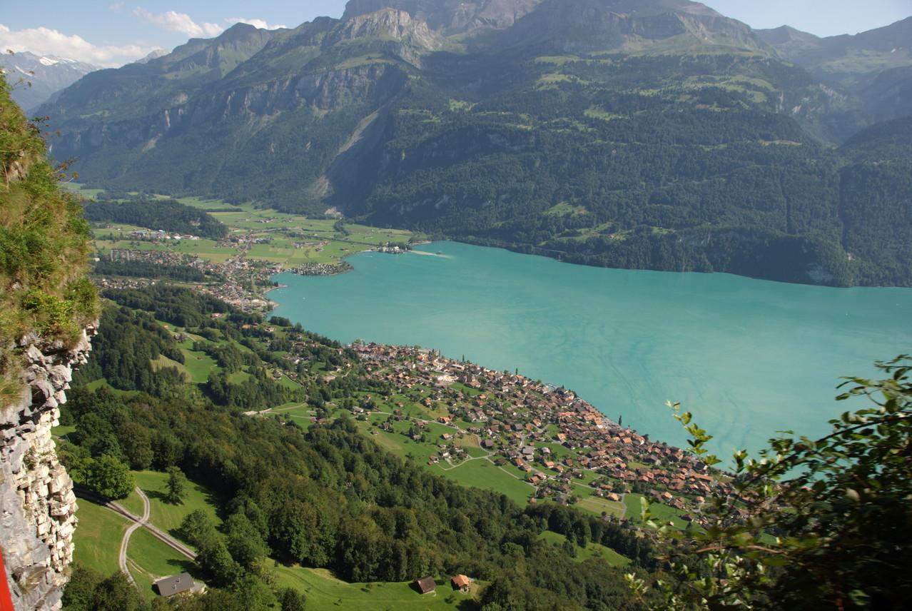 Blick auf den Brienzer See