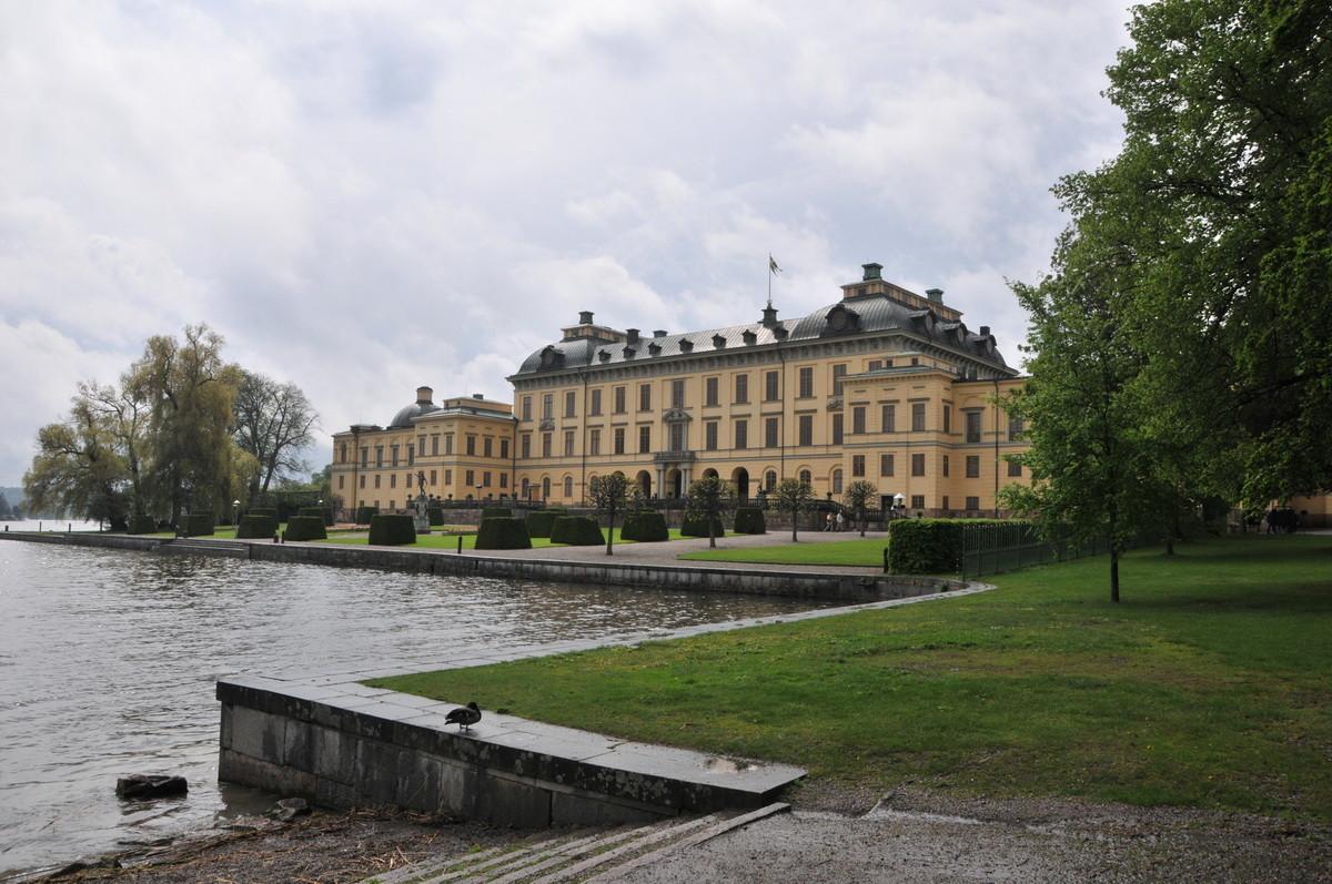 Ausflug zum Schloss Drottningholm