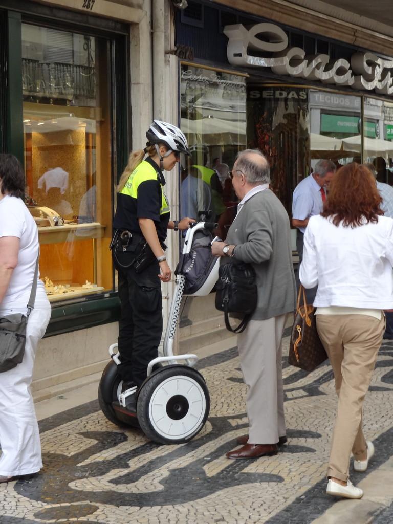 Segways für die Stadtpolizei