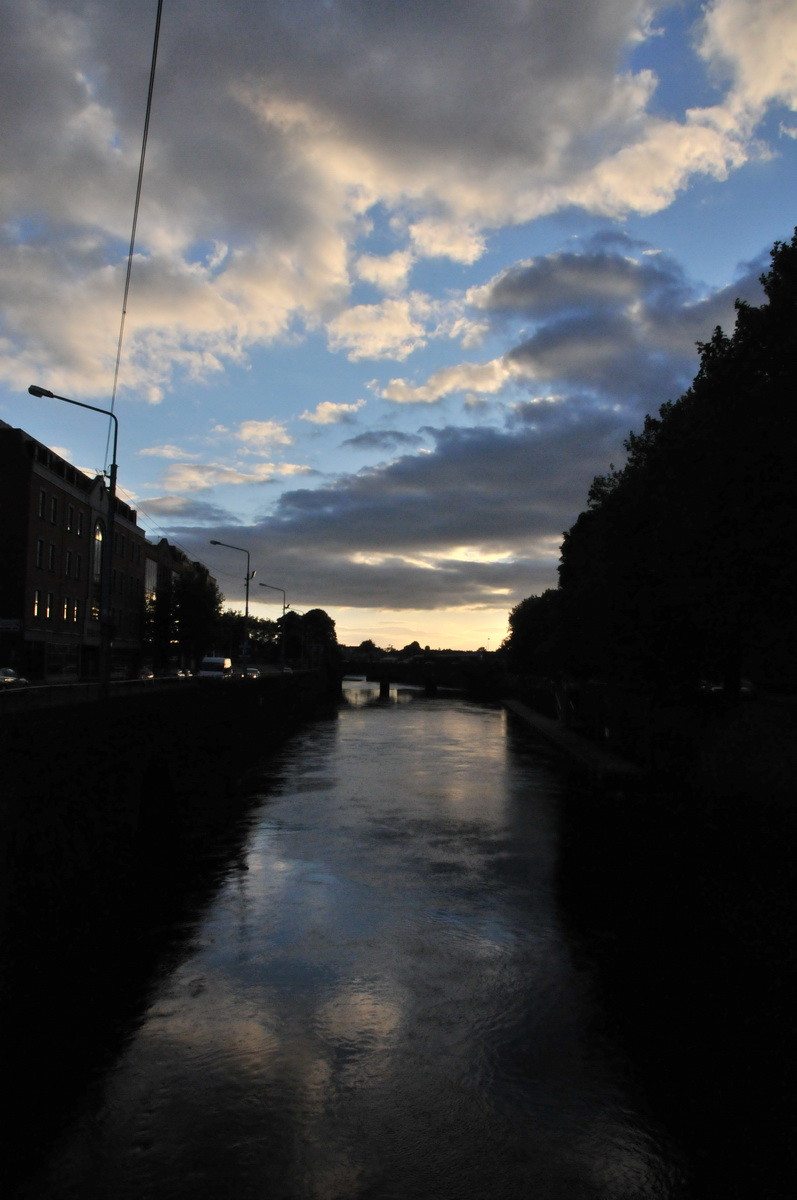 Der Fluss Shannon bei Liverick