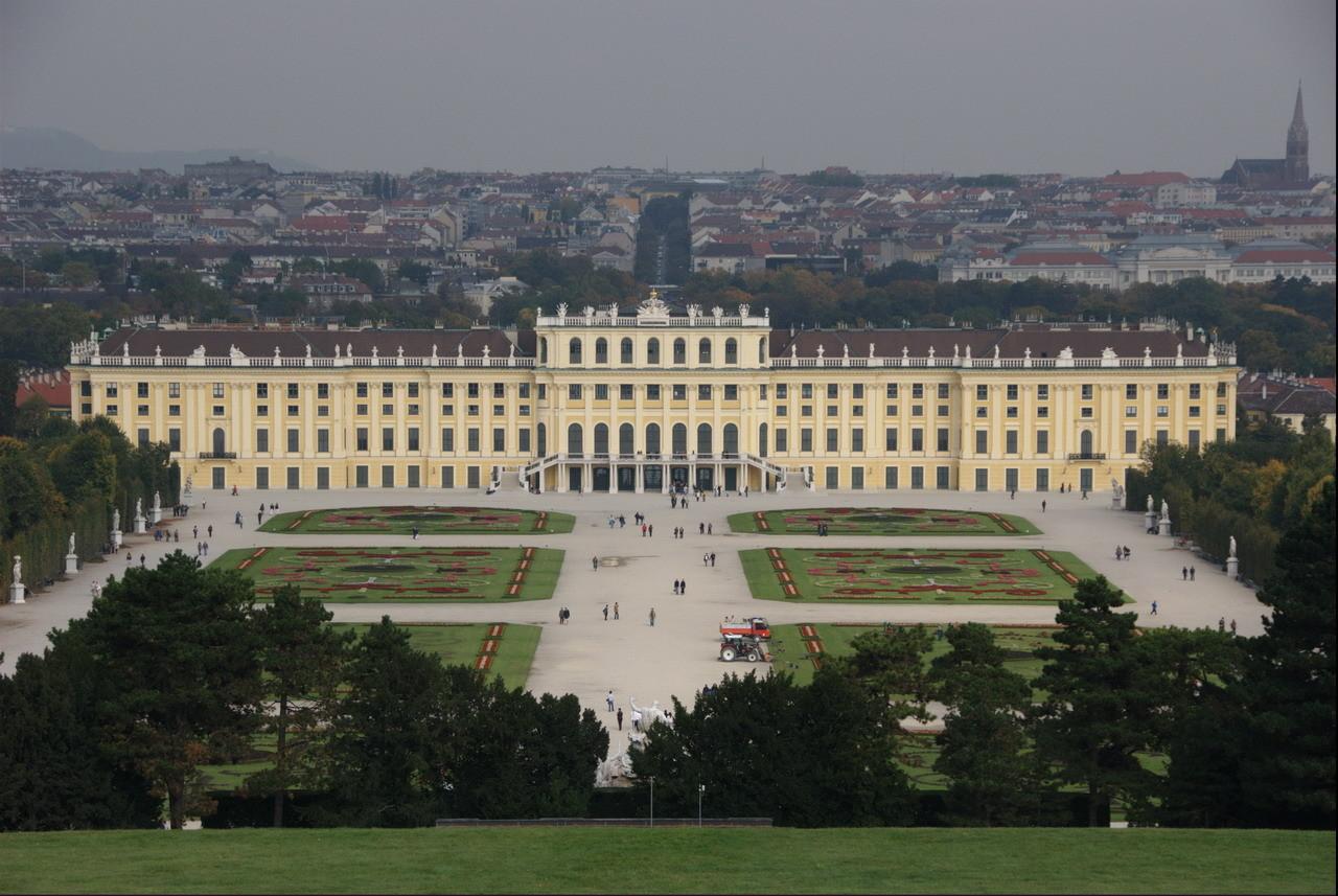Schloss Schönbrunn, Blick von der Gloriette