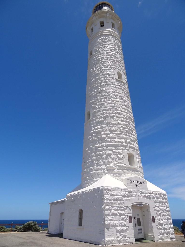 Der berühmte Leuchtturm am Cape Leeuwin