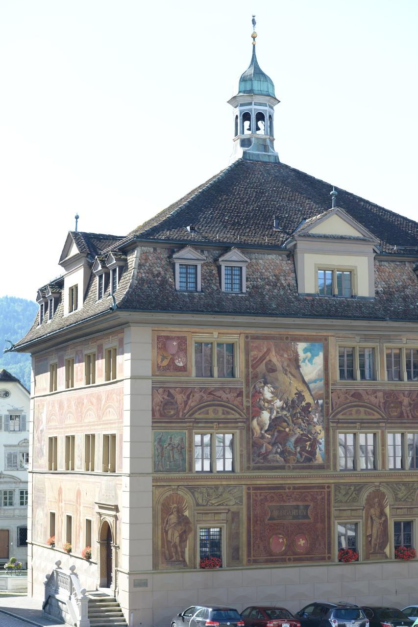 Schwyz - Das Rathaus