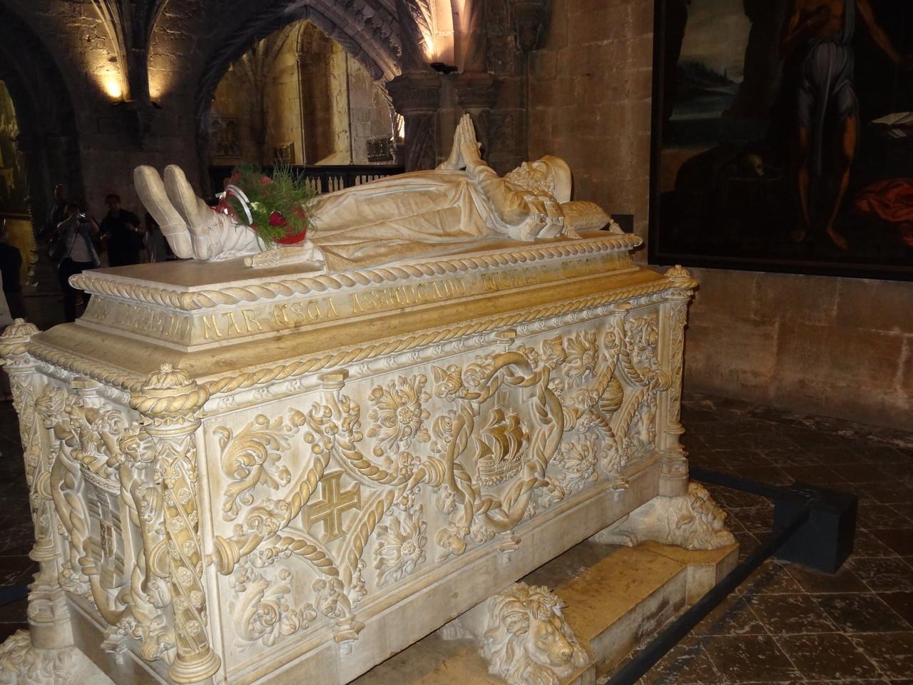 Das Grab des Vasco da Gamma