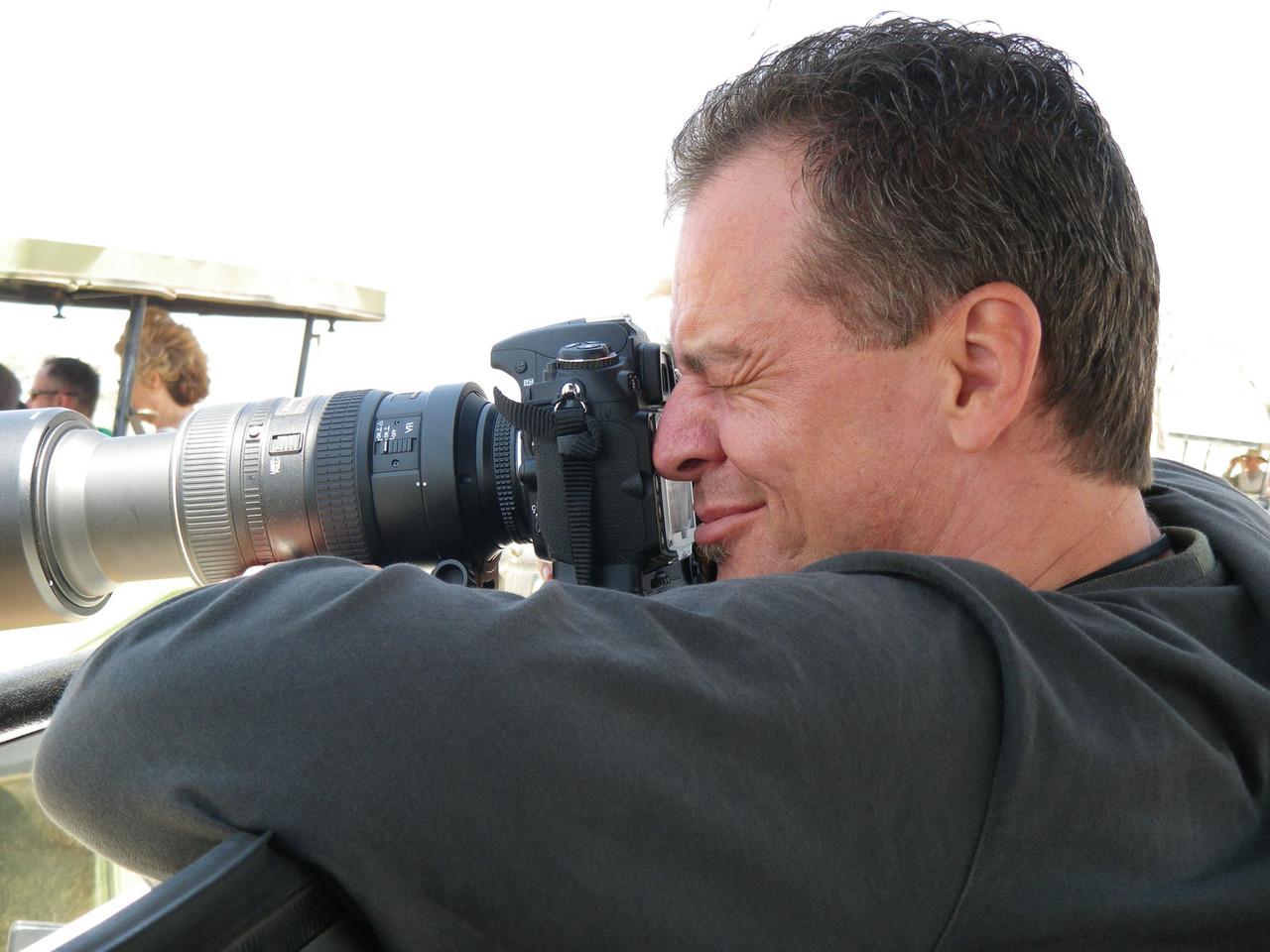 """3. Tag in der Serengeti, grosses """"Geschütz"""" wird aufgefahren"""