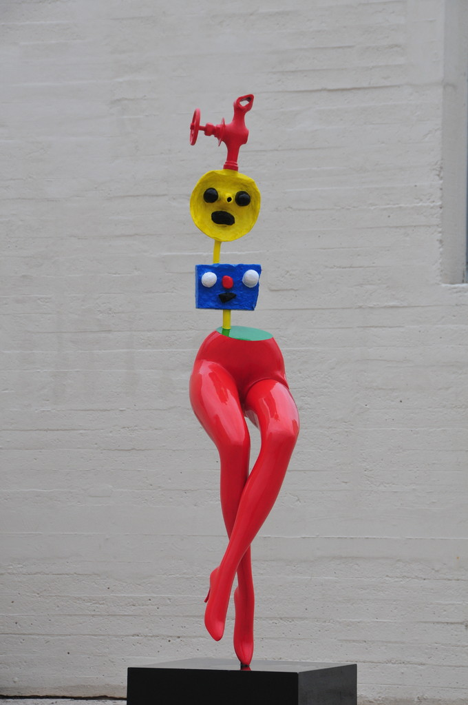"""Skulptur von Jean Miro """"Jeune fille s'évadant"""""""