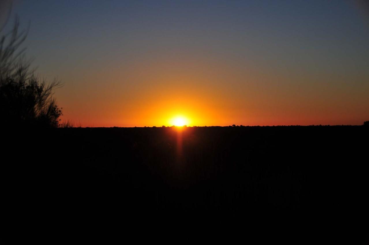 und der Sonnenaufgang